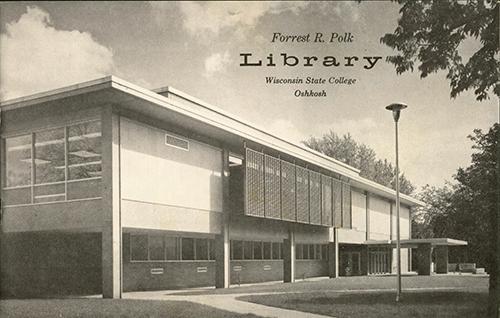 Polk Library is dedicated