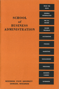 College of Business is founded