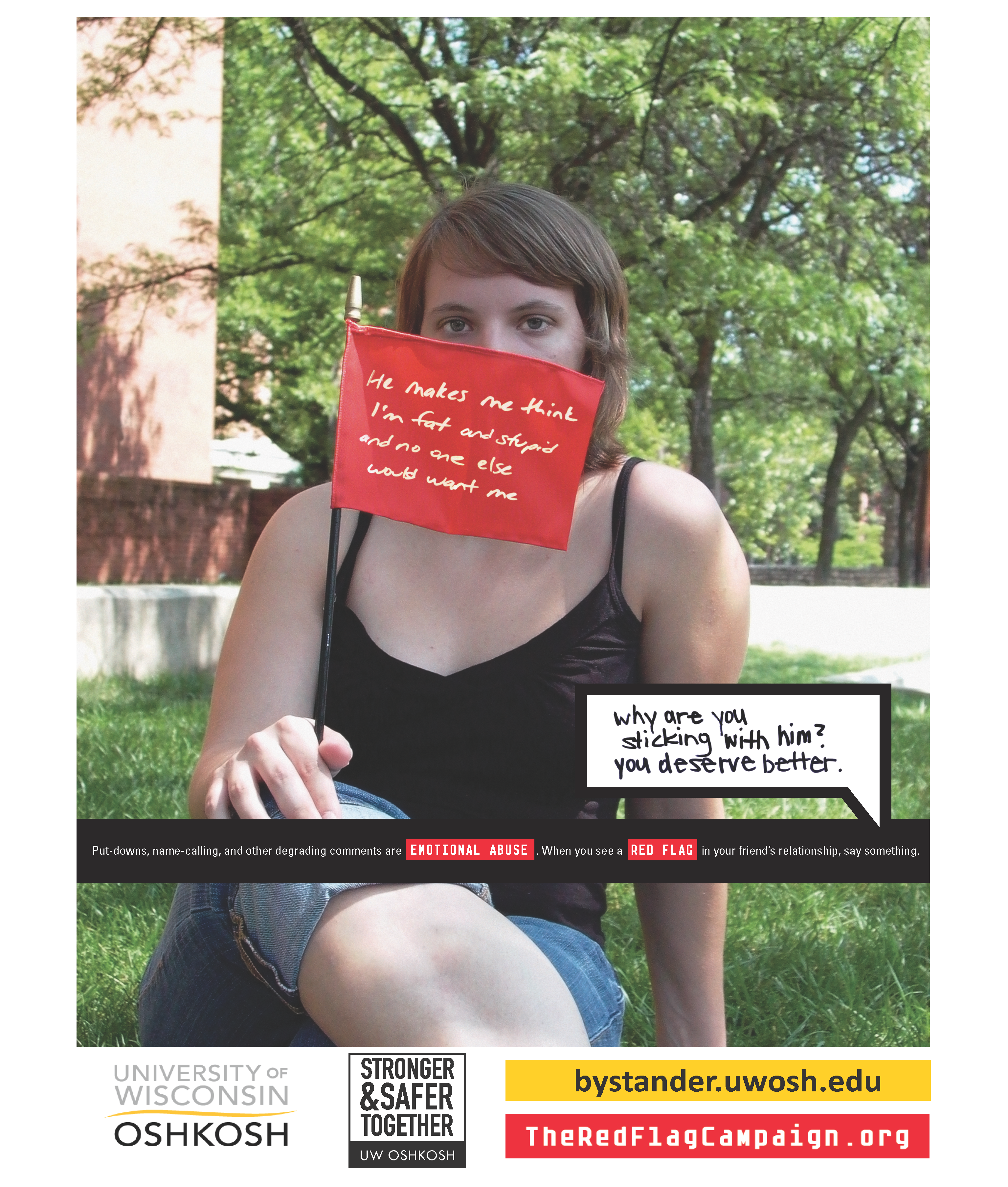 Emotional Abuse- Red Flag Campaign