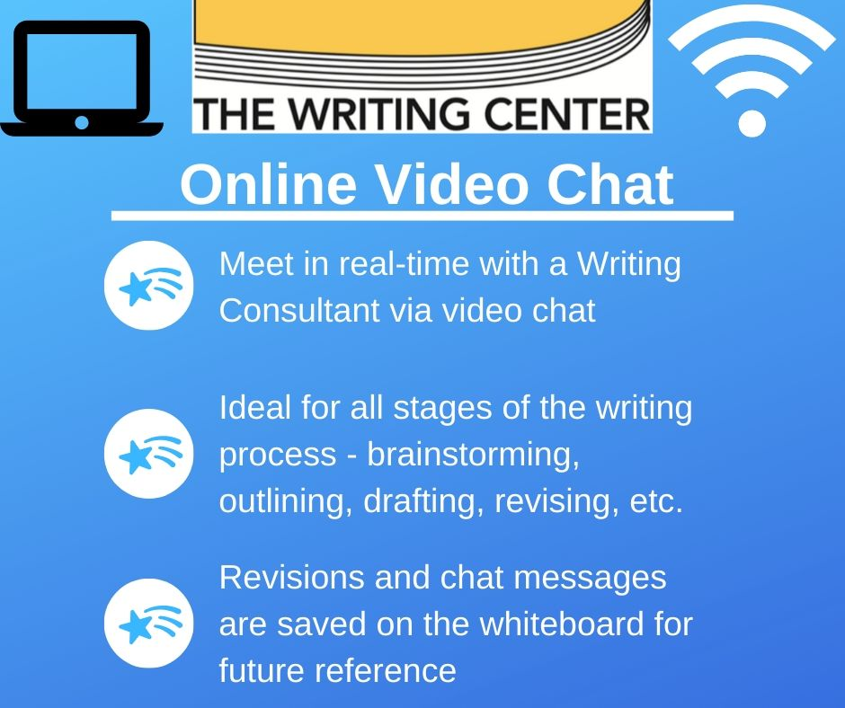 Writing Center Online Video Chat