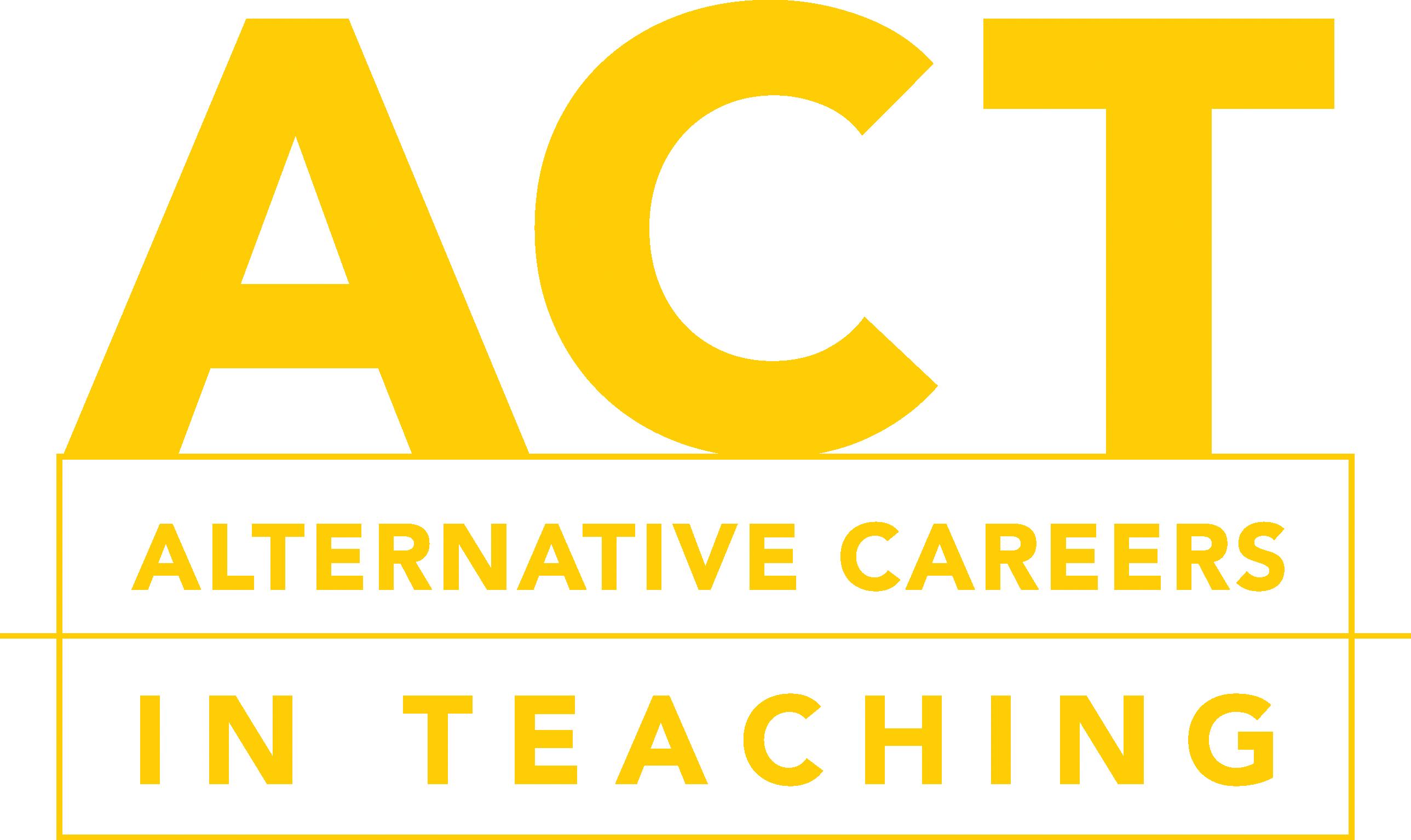 Alternative Careers in Teaching Logo