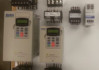 Initial layout of electrical panel