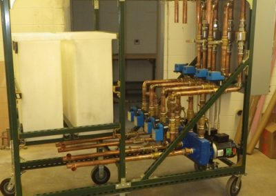 Completed flow measurement section