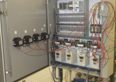 Electrical panel (power wires)