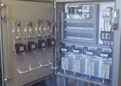 Completed electrical panel