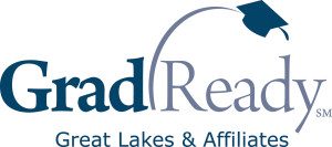 GradReady blue logo by Great Lakes & Affiliates