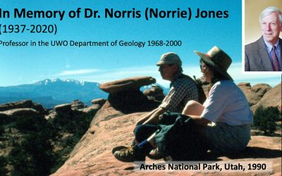 "In Memory of Dr. Norris ""Norrie"" Jones"