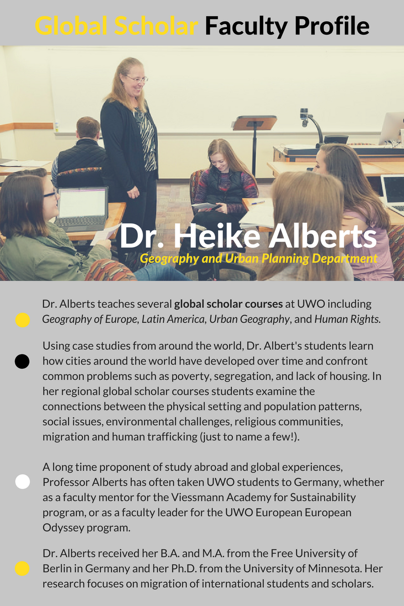 Faculty Spotlight - H. Alberts (1)