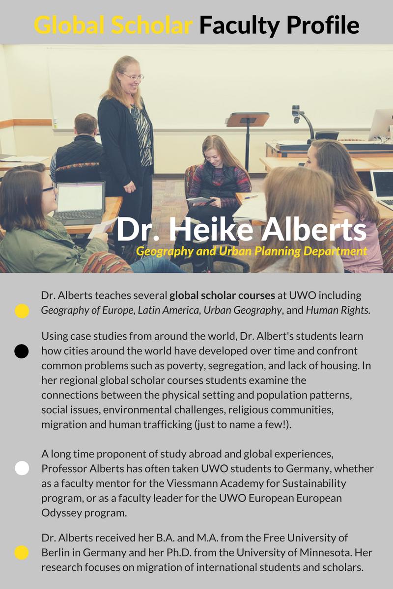 Faculty Spotlight - H. Alberts (1)