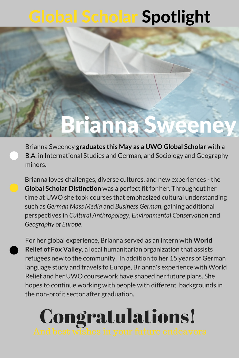Global Scholar Student Spotlight - B. Sweeney (1)
