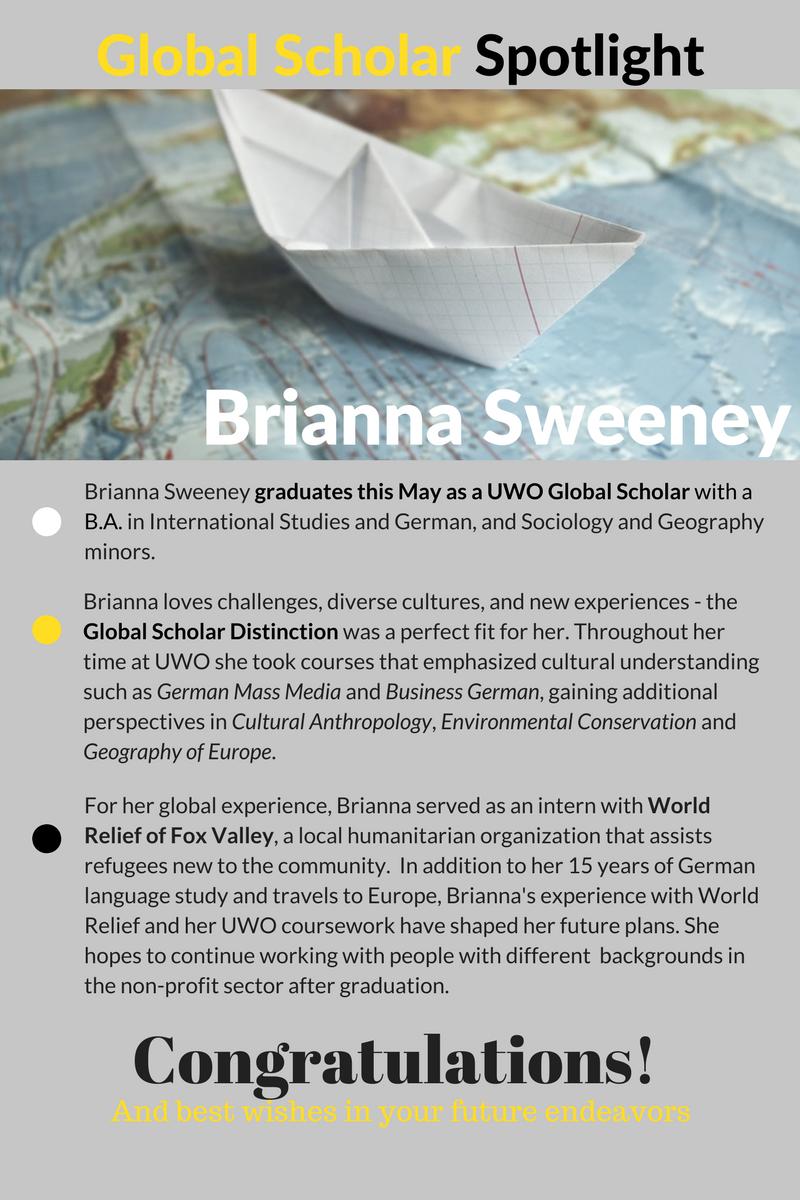 Global Scholar Student Spotlight - B. Sweeney (1)