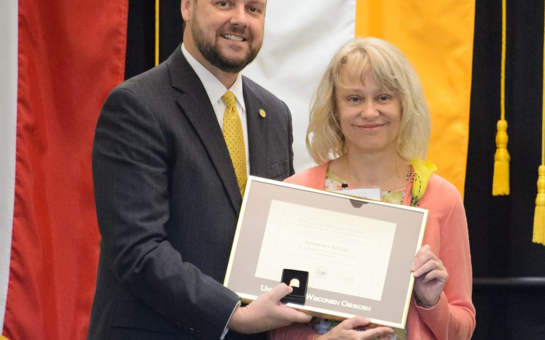 Professor Kim Rivers recognized with major university honor