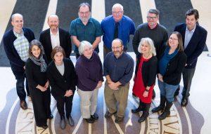 History Dept. Members in Sage Lobby