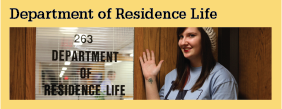 Home Department of Residence Life