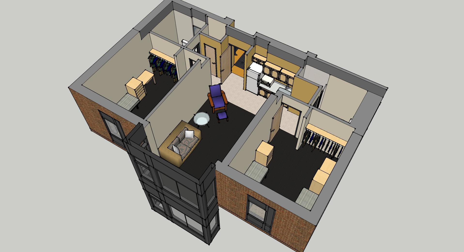 2 bedroom suite view 2