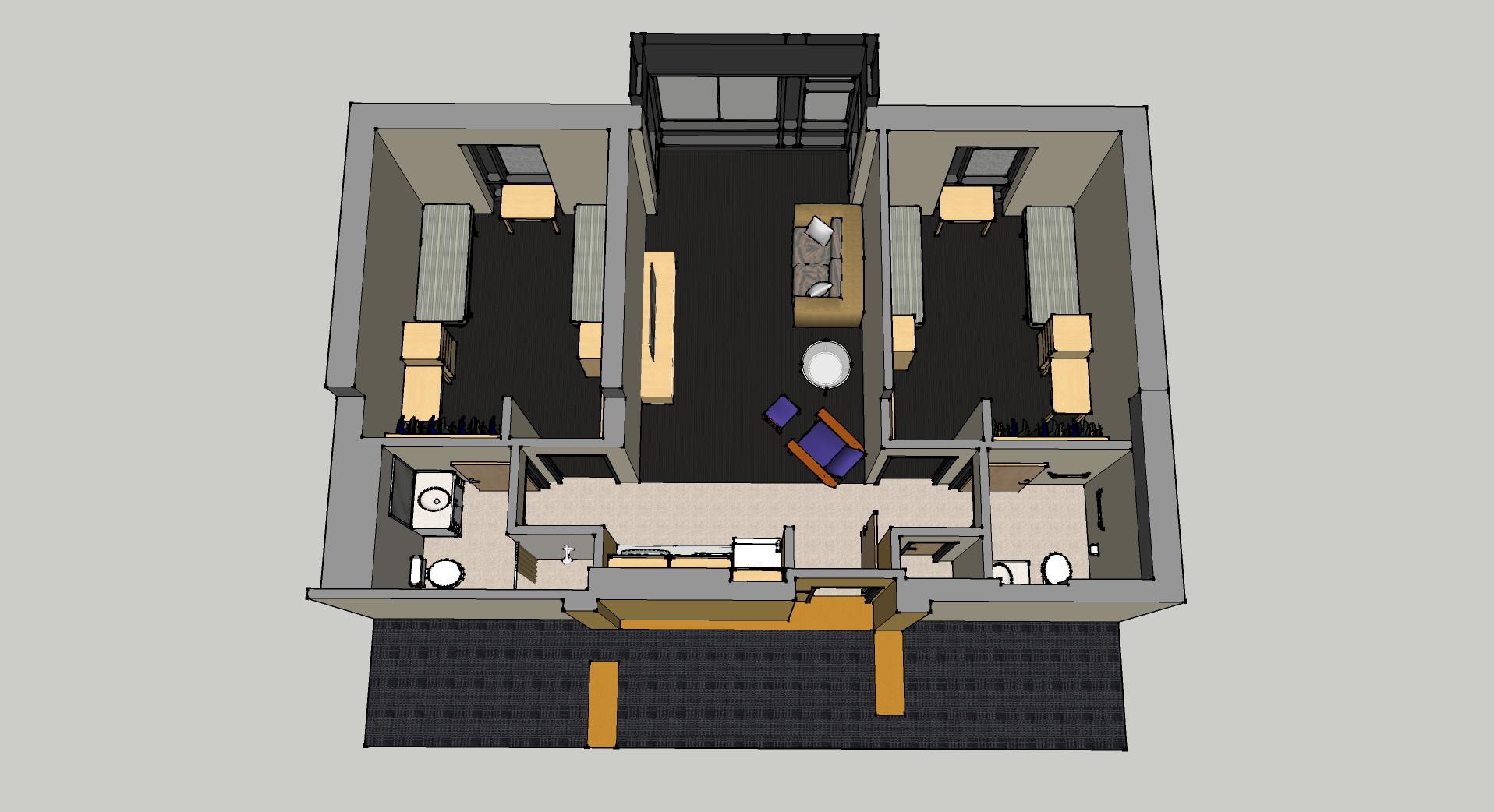 2 bedroom suite view 7