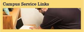 Services and Programs Campus Service Links