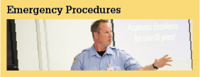 Services and Programs Emergency Procedures