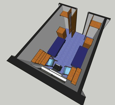 Evans Hall Room Layout 2