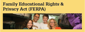 Student Forms FERPA