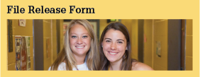 Student Forms File Release Form