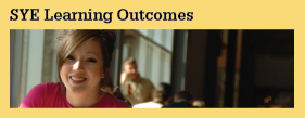 SYE Learning Outcomes