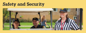 Services and Programs Safety and Security