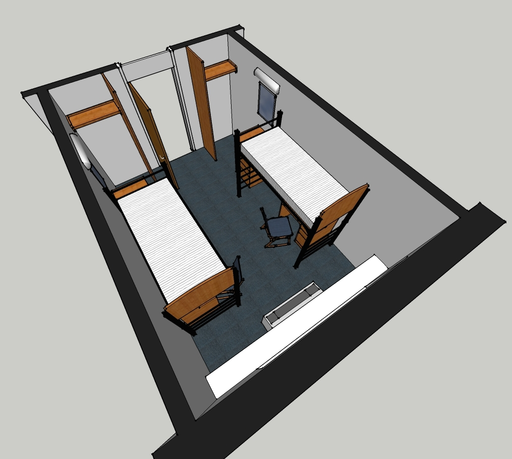 Taylor Hall Room Layout 1
