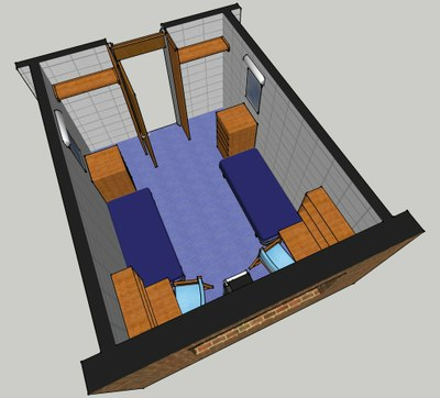 Donner Hall Room Layout 1