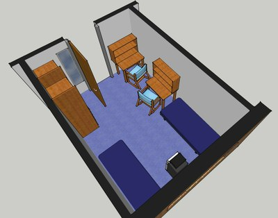 Stewart Hall Room Layout