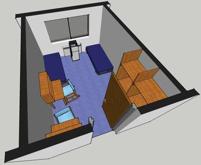 Stewart Hall Room Layout