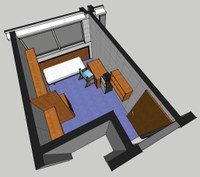 North Scott Hall Room Layout 2