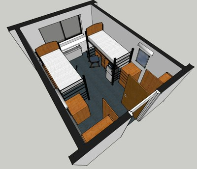 Taylor Hall Room Layout 2