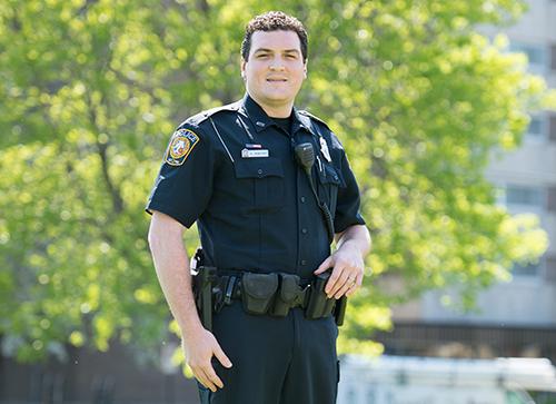 online public safety student