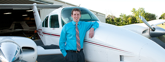 online aviation management student