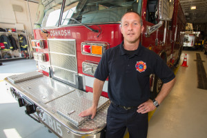 chief officer program student Brian Bending