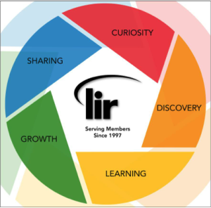 LIR Graphic Pillars