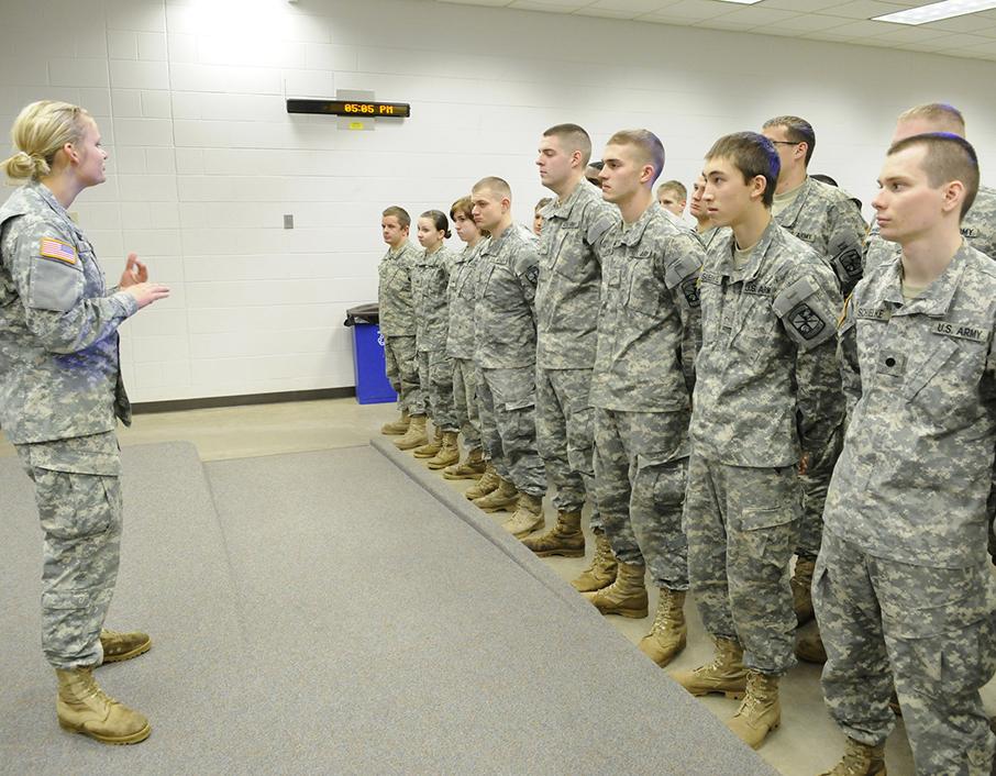 ROTC Class