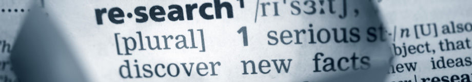picture of the dictionary definition of research