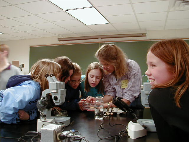 Girl Scouts Science Trekkers 2004