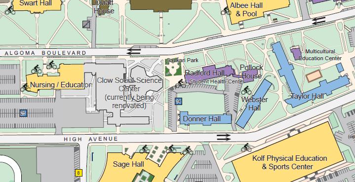 Campus Map 2015-16