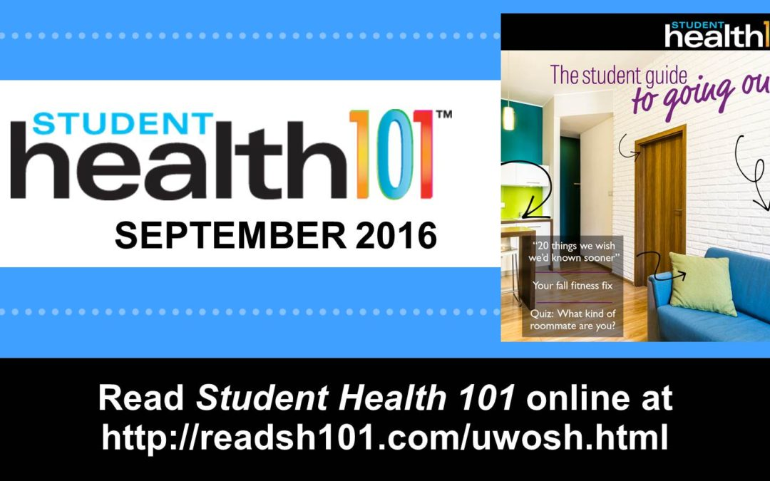 The September issue of Student Health 101 is available!