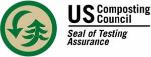 Logo of the US Composting Council (Seal of Testing Assurance)