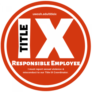 Title IX Responsible Employee Notice Badge