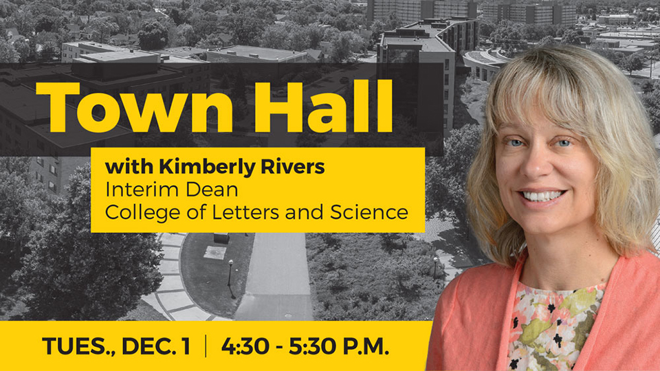 UWO College of Letters and Science to host Town Hall for alumni Dec. 1