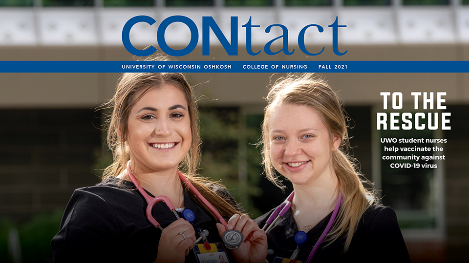 CONtact magazine highlights nursing students, educators stepping up throughout the pandemic