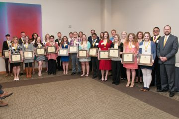 Group Photo of 2016 Chancellor's Award For Excellence