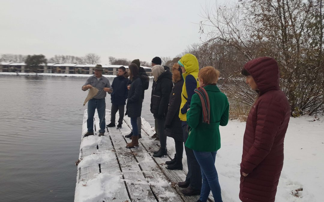 UWO faculty share Fox River research, reflections
