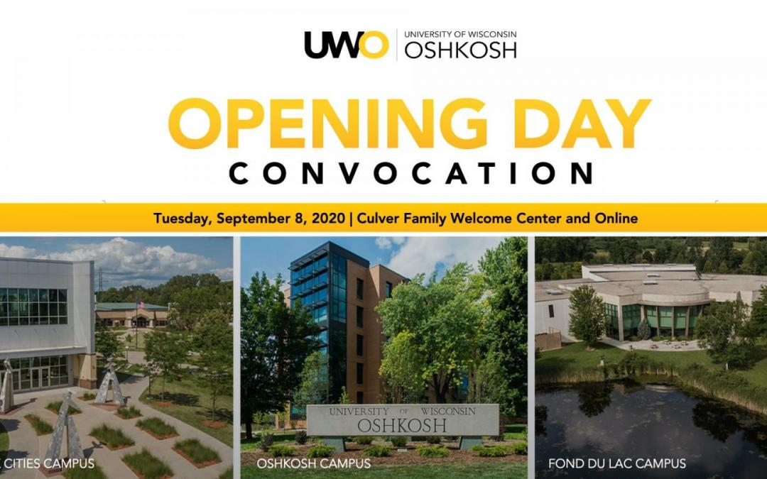 UWO Opening Day: Campuses start year like no other; 20 faculty, staff honored