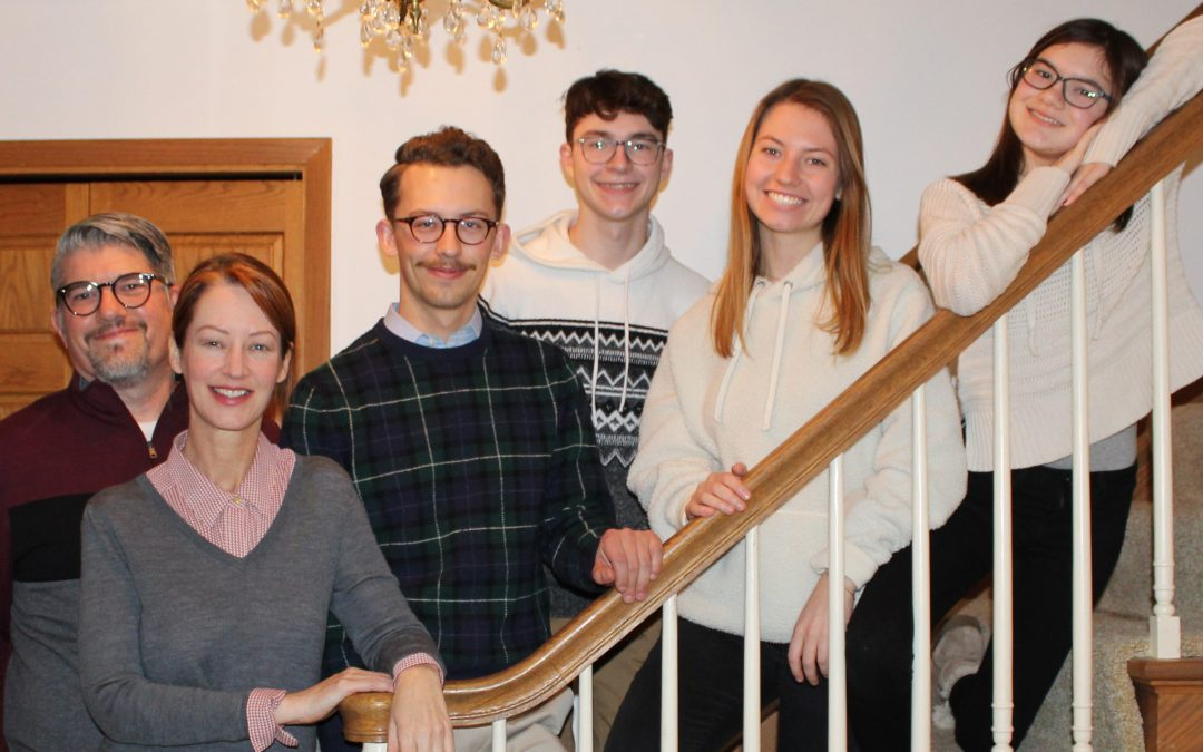 'It's been a blast': Family of UWO educators, students uniquely intertwined in spring semester